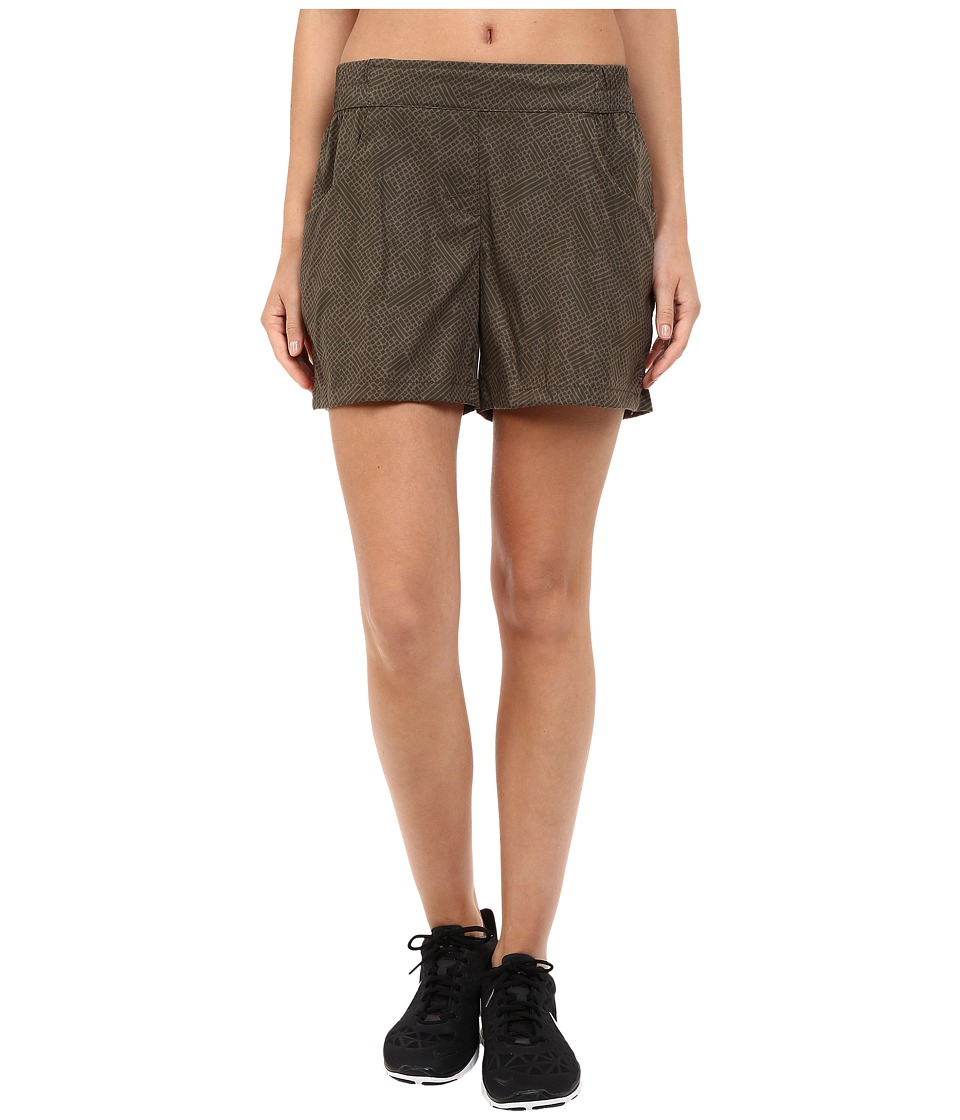 ToadampCo Jetlite Shorts Falcon Brown Print Womens Shorts