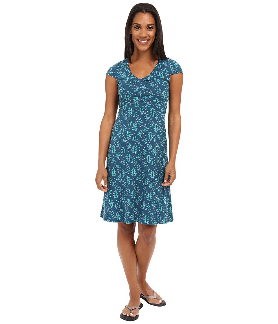 ToadampCo Rosemarie Dress Inky Teal Found Forest Womens Dress