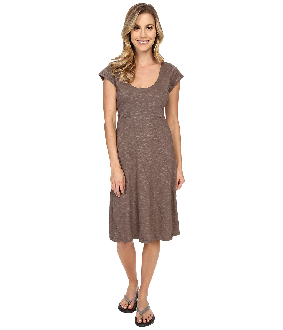 ToadampCo Nena Dress Falcon Brown Womens Dress