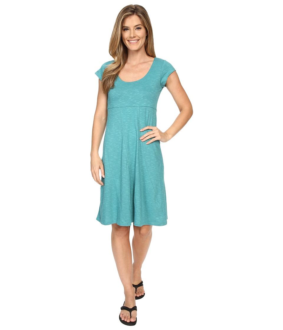 ToadampCo Nena Dress Dark Turquoise Womens Dress