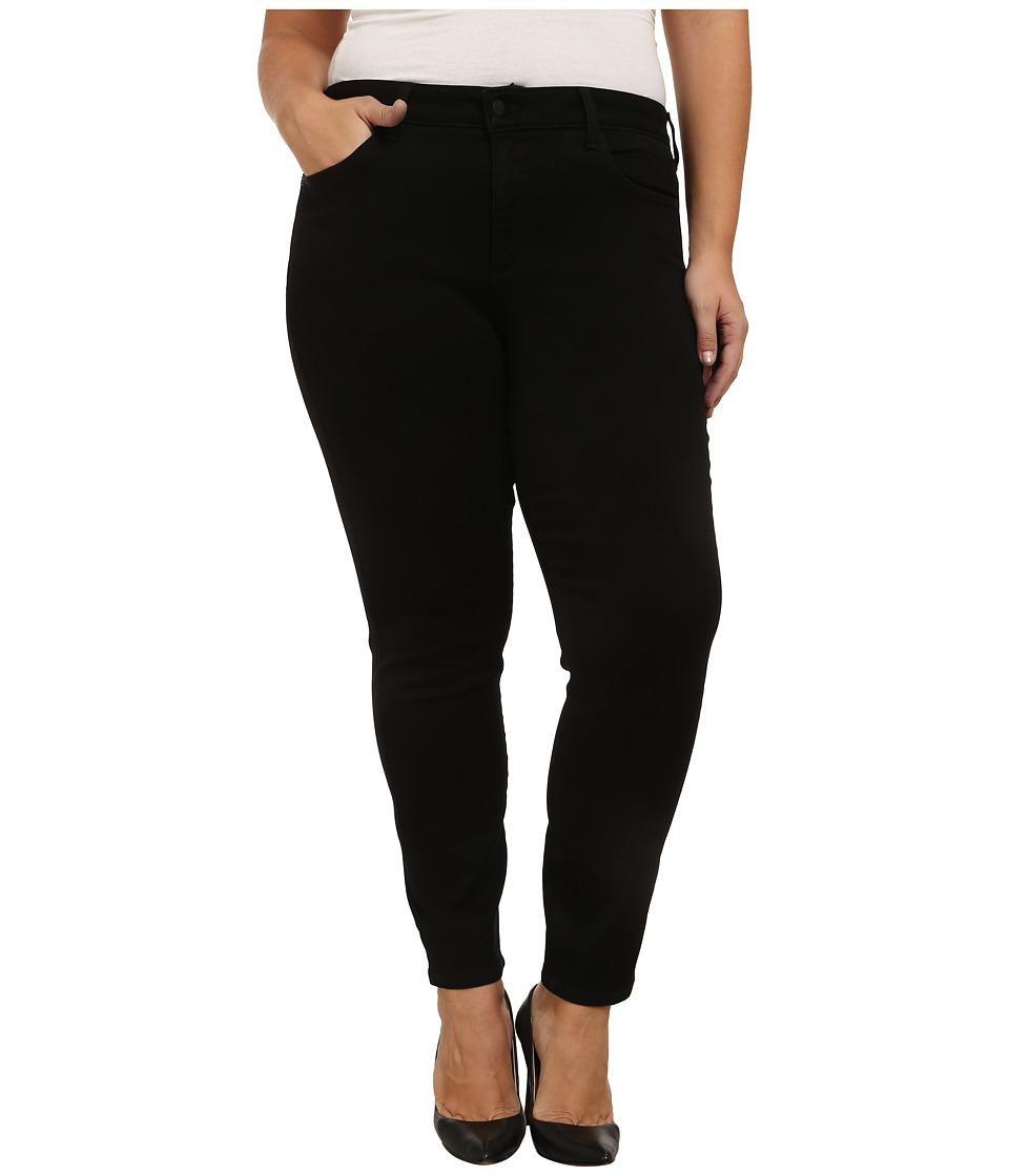 NYDJ Plus Size Plus Size Alina Leggings Black Womens Casual Pants