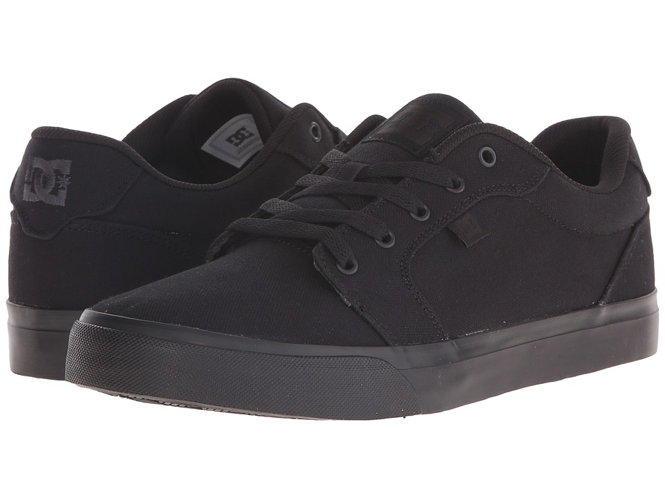 DC Anvil TX Black/Black/Black Mens Skate Shoes