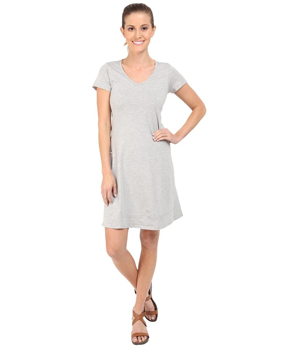 ToadampCo Marley S/S Dress Heather Grey Womens Dress
