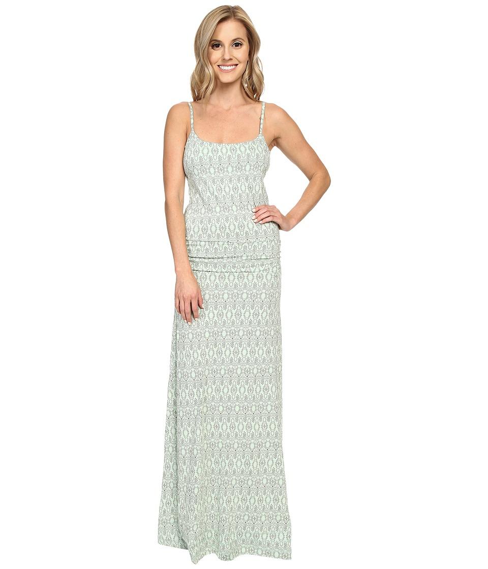 ToadampCo Long Island Dress Pistachio Tapestry Print Womens Dress