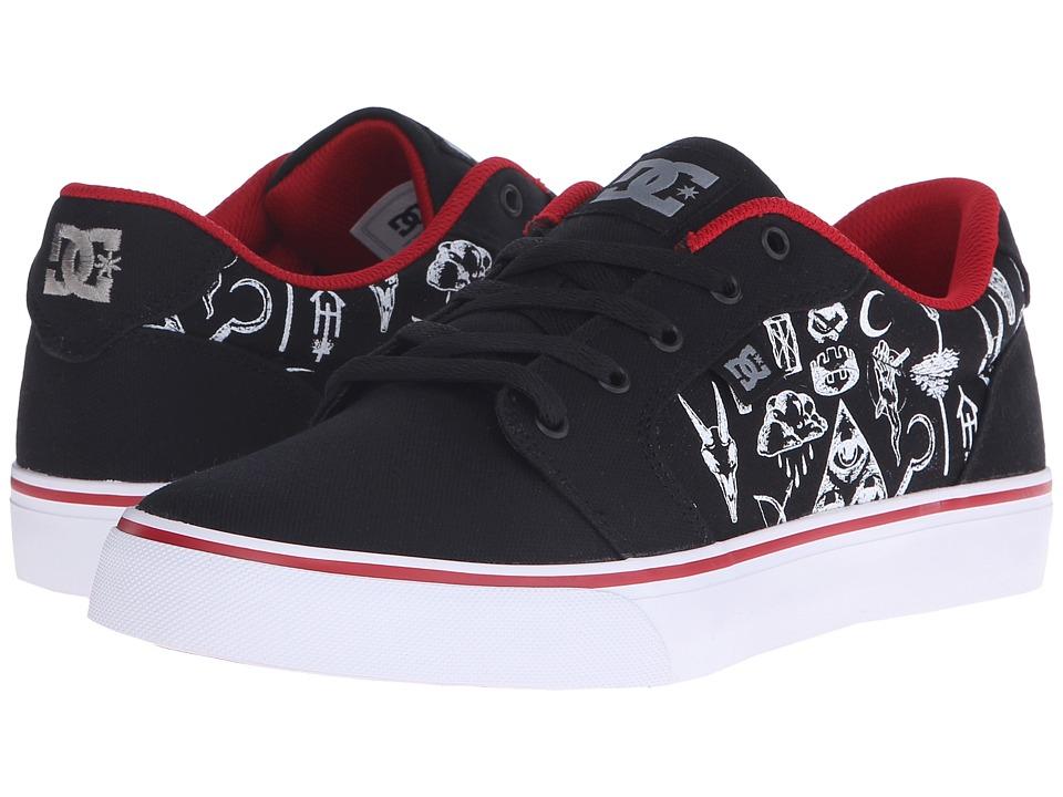 DC Anvil TX SP Black Print Mens Skate Shoes