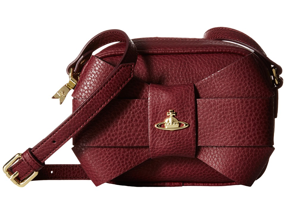 Vivienne Westwood - Bow Crossbody (Bordeaux) Cross Body Handbags
