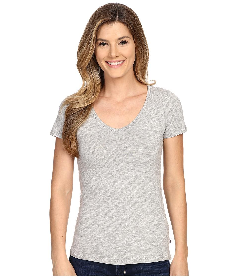 ToadampCo Marley S/S Tee Heather Grey Womens Short Sleeve Pullover