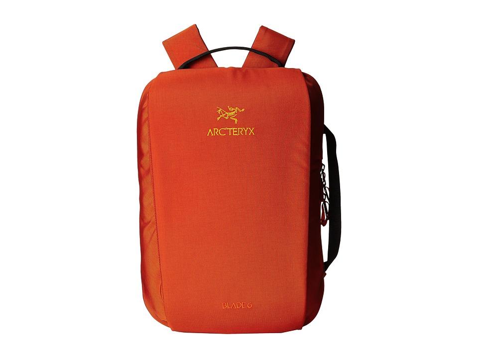 Arcteryx Blade 6 Backpack Tobiko Backpack Bags