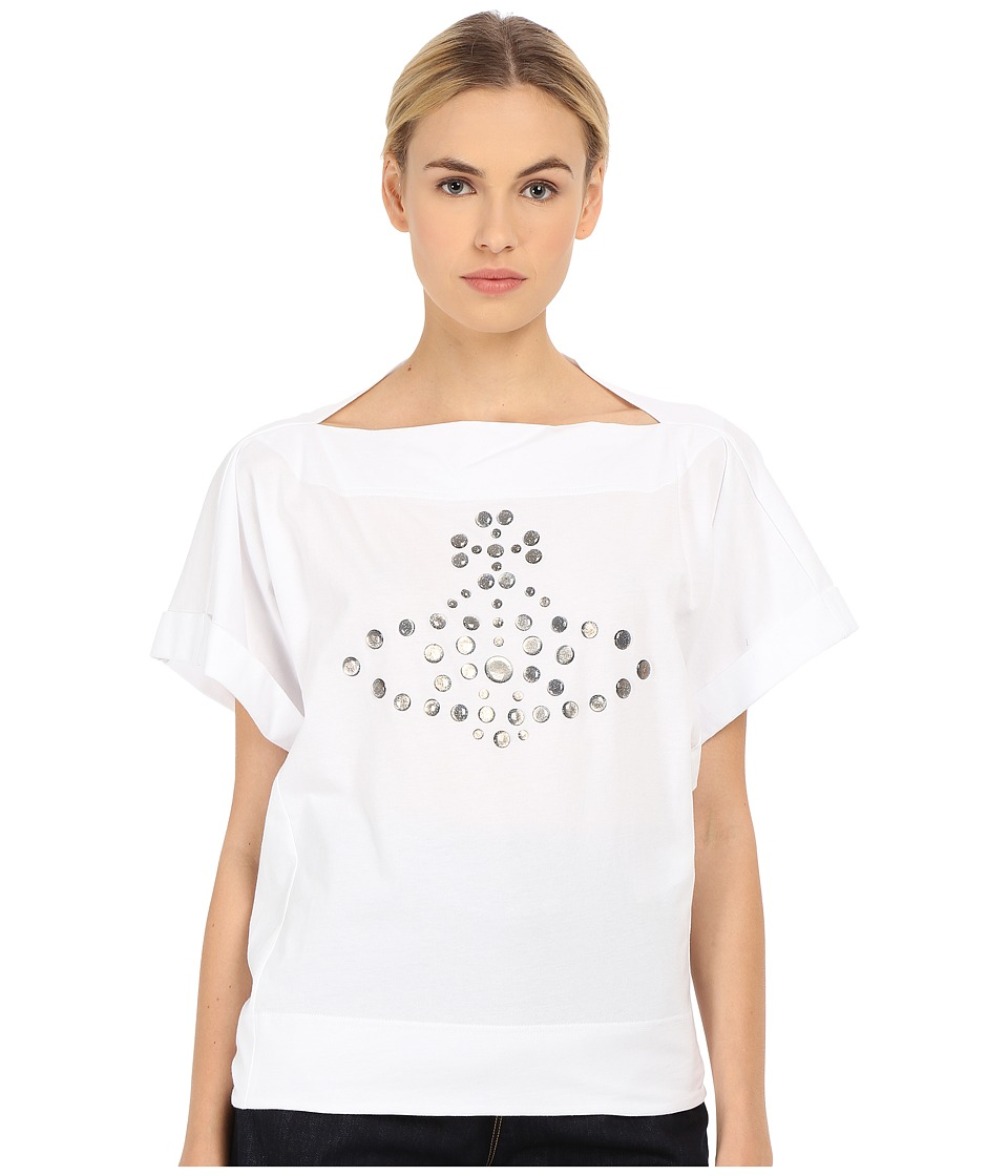 Vivienne Westwood - Dot Orb T-Shirt (Optical White) Women
