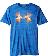Under Armour Kids - Big Logo Hybrid Short Sleeve Tee (Big Kids)
