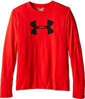 Under Armour Kids - Big Logo Long Sleeve (Big Kids)