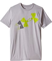 Under Armour Kids - Rising Pixelated Logo Short Sleeve Tee (Big Kids)