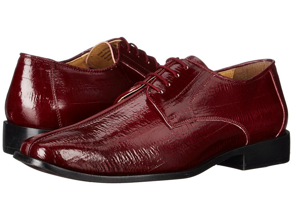 Giorgio Brutini Hellis (Burgundy) Men's Shoes
