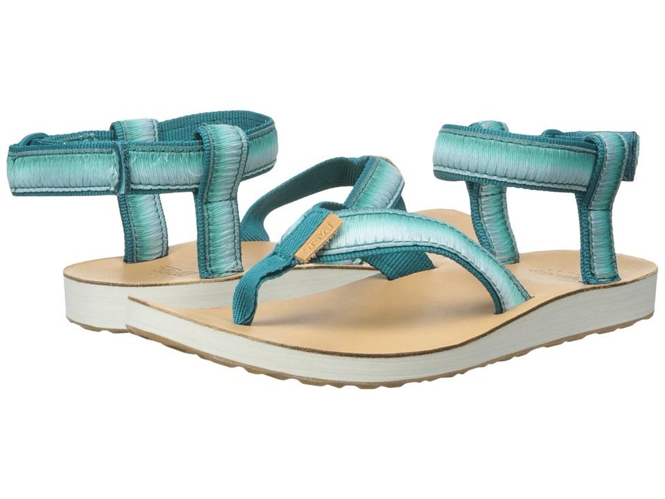 Teva Original Sandal Ombre Deep Teal Womens Sandals
