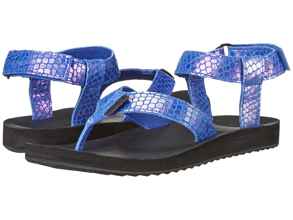 Teva Original Sandal Iridescent Blue Womens Sandals