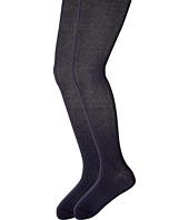 Jefferies Socks - Cotton Rib Tights 2-Pack (Big Kid)