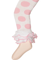 Jefferies Socks - Dot & Stripe Multi Ruffle Footless Tights (Infant/Toddler/Little Kid/Big Kid)