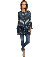 Free People - Printed Rayon Gauze From Your Heart Dress