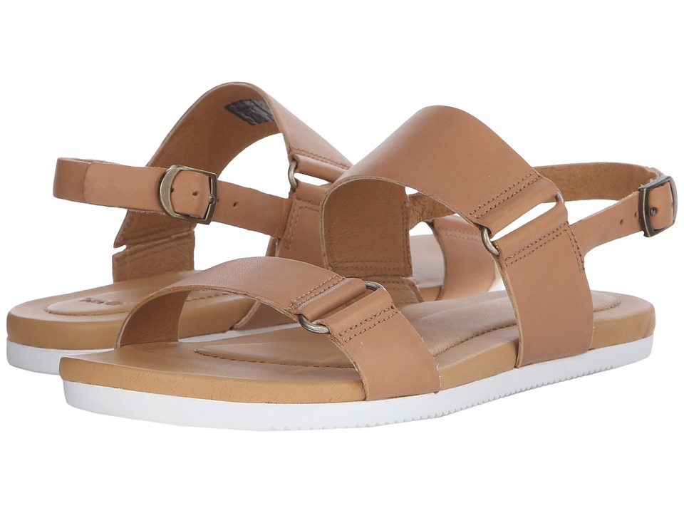 Teva Avalina Sandal Leather Tan Womens Sandals