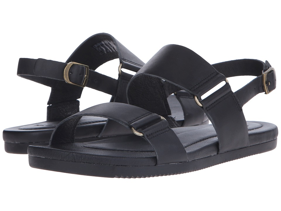 Teva Avalina Sandal Leather Black Womens Sandals