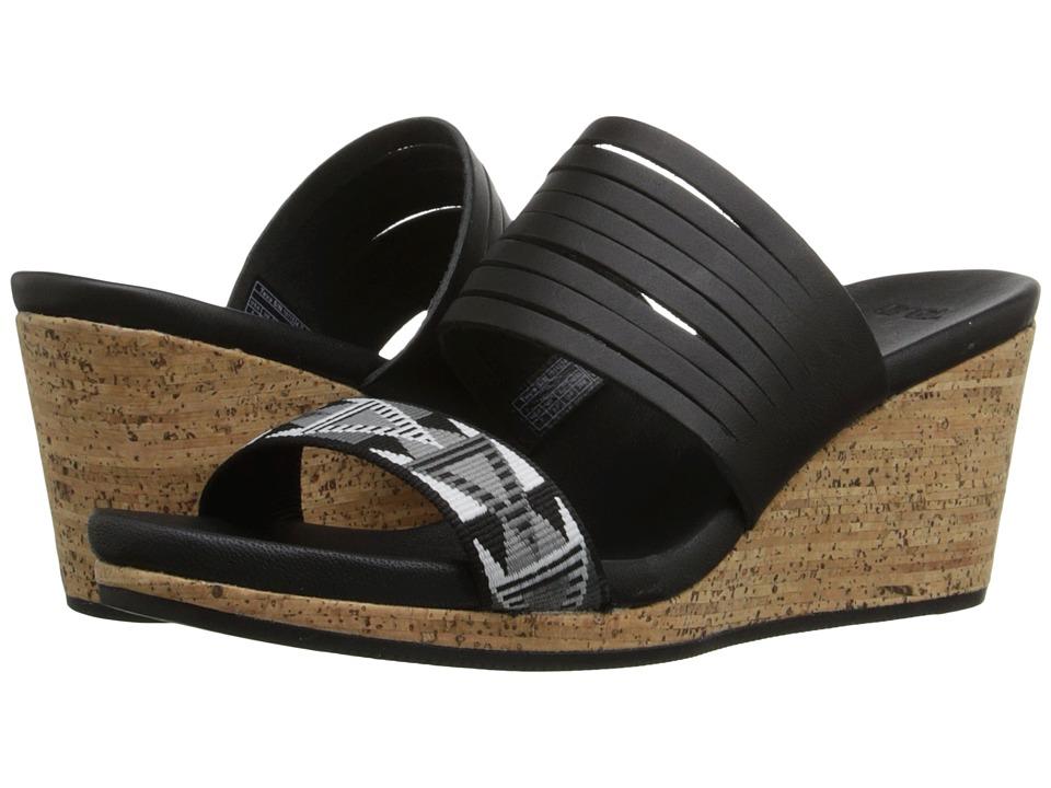 Teva Arrabelle Slide Mosaic Black Womens Sandals