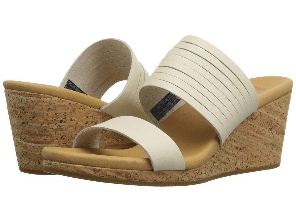 Teva Arrabelle Slide Leather White Womens Sandals