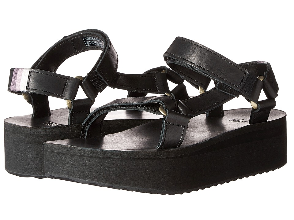 Teva Flatform Universal Crafted Black Womens Shoes