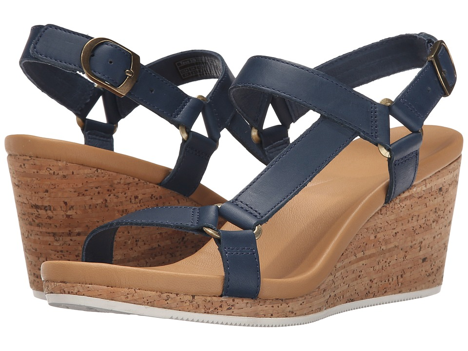 Teva Arrabelle Universal Leather Navy Womens Shoes