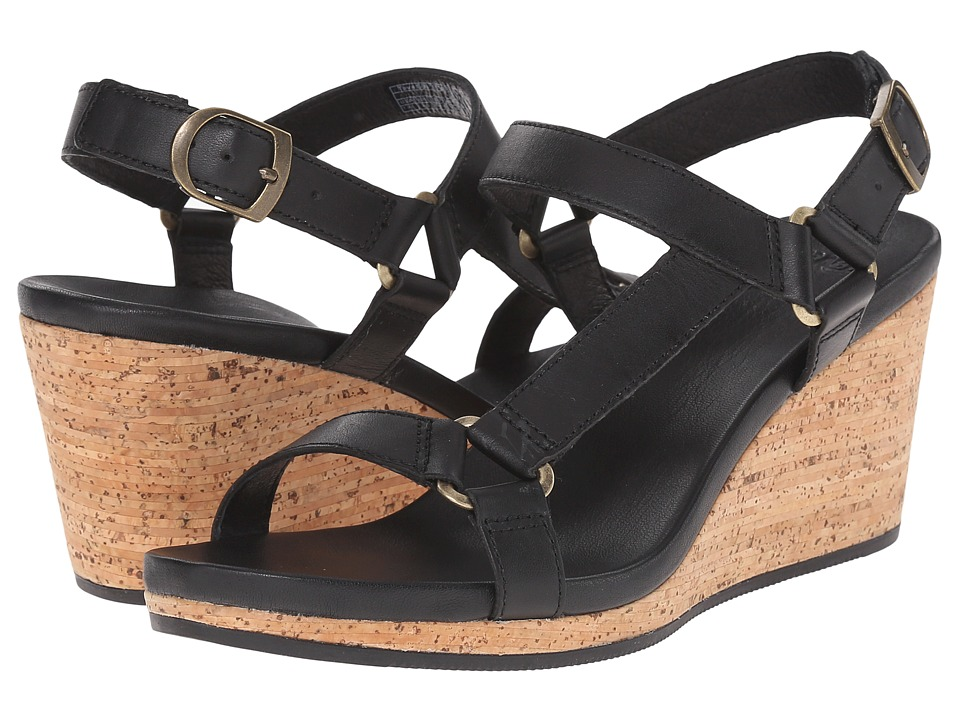 Teva Arrabelle Universal Leather (Black) Women