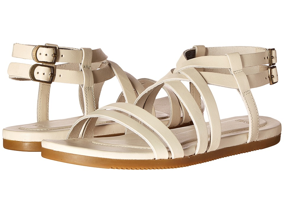 Teva Avalina Crossover Leather White Womens Shoes