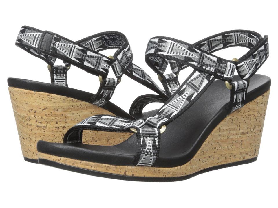 Teva Arrabelle Universal Mosaic Black Womens Shoes