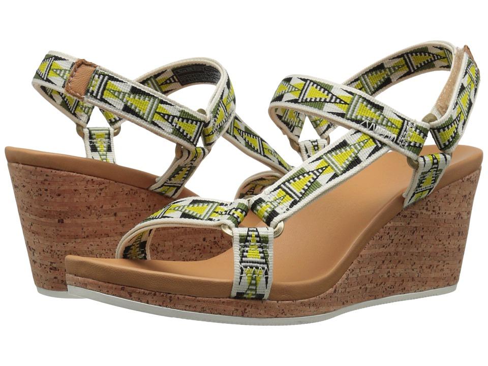Teva Arrabelle Universal Mosaic Lime Womens Shoes