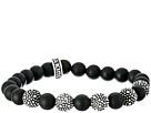 King Baby Studio 8mm Onyx Bead Bracelet with 5 Stingray Beads