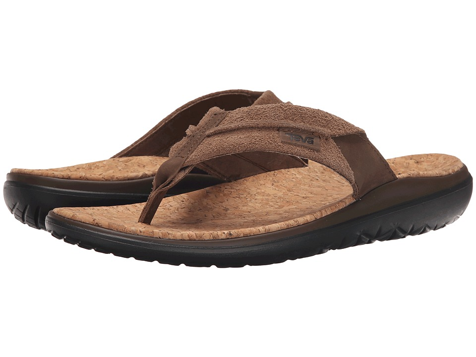 Teva - Terra-Float Flip Lux (Dark Earth) Men