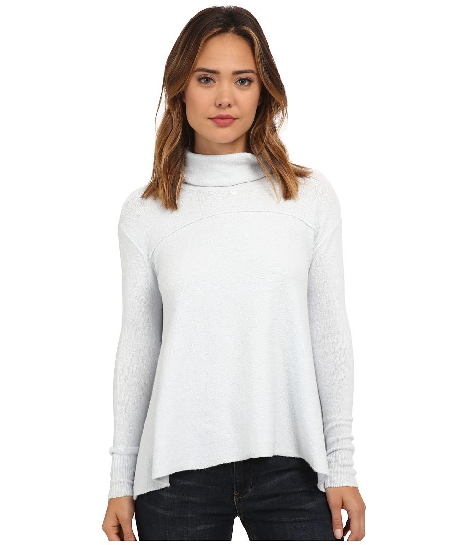 Free People Drape Drape Top Ice Womens Sweater