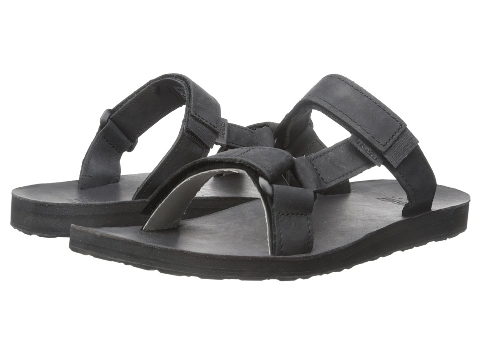 Teva - Universal Slide Leather (Black) Men