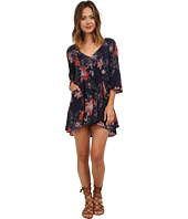 Free People - 60's Rayon Voile Eyes On You Printed Mini Dress