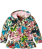 Roberto Cavalli Kids - Track Hooded Top w/ Butterfly Print (Infant)