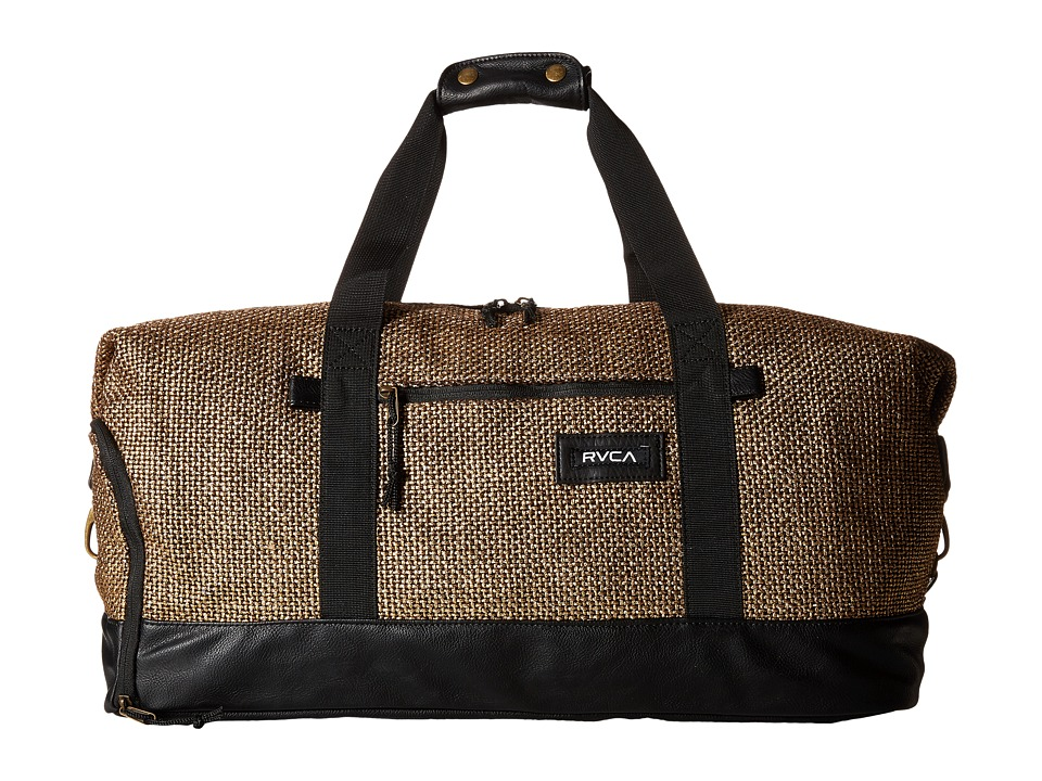 RVCA Away Away Duffel Gold Duffel Bags