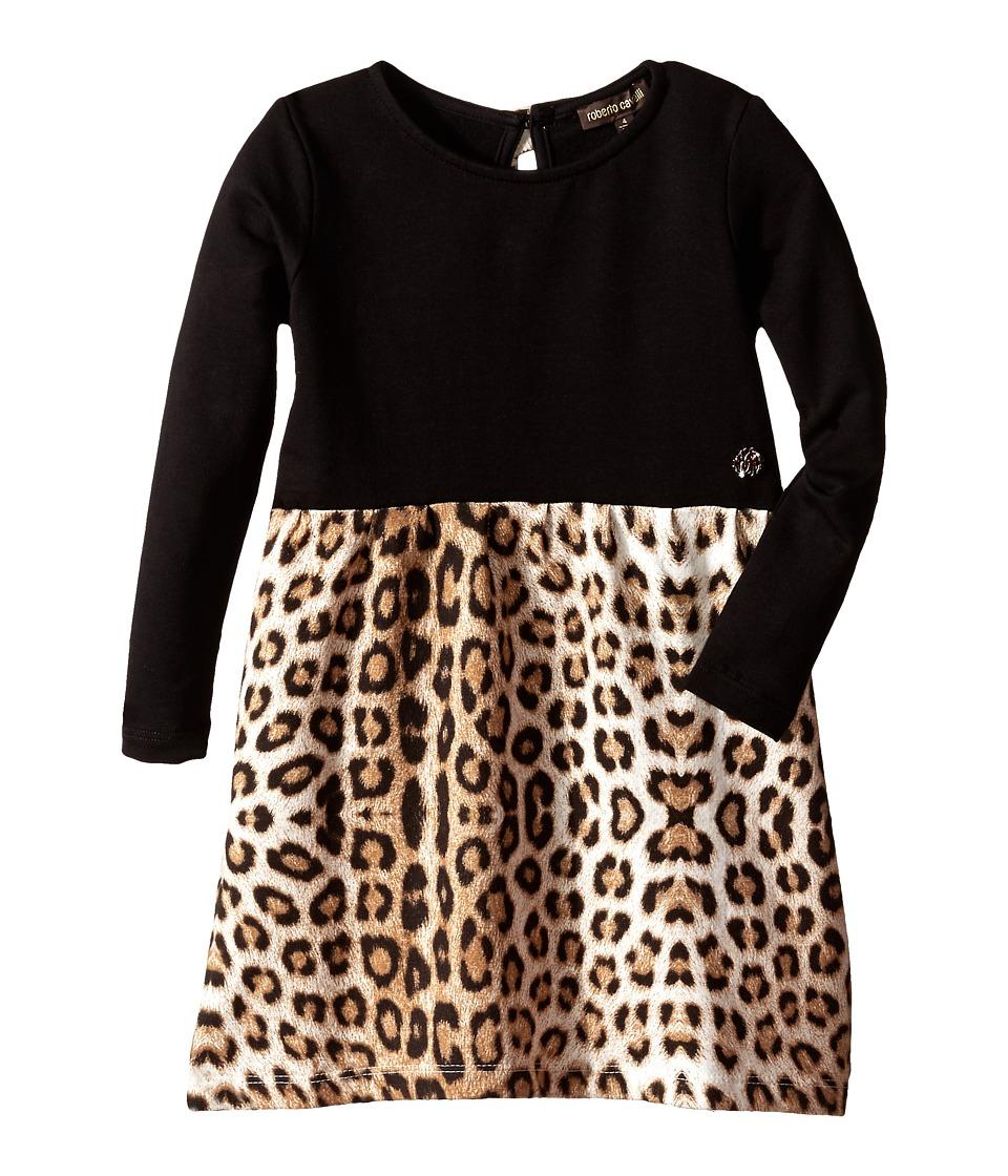 Roberto Cavalli Kids Leopard Print Dress Toddler Multi Girls Dress