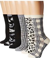 Steve Madden - 6-Pack Crew Socks