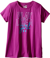 Under Armour Kids - Play Like A Girl Short Sleeve Tee (Big Kids)