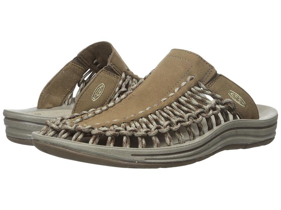 Keen Uneek Slide (Dark Earth/Brindle) Men's Sandals