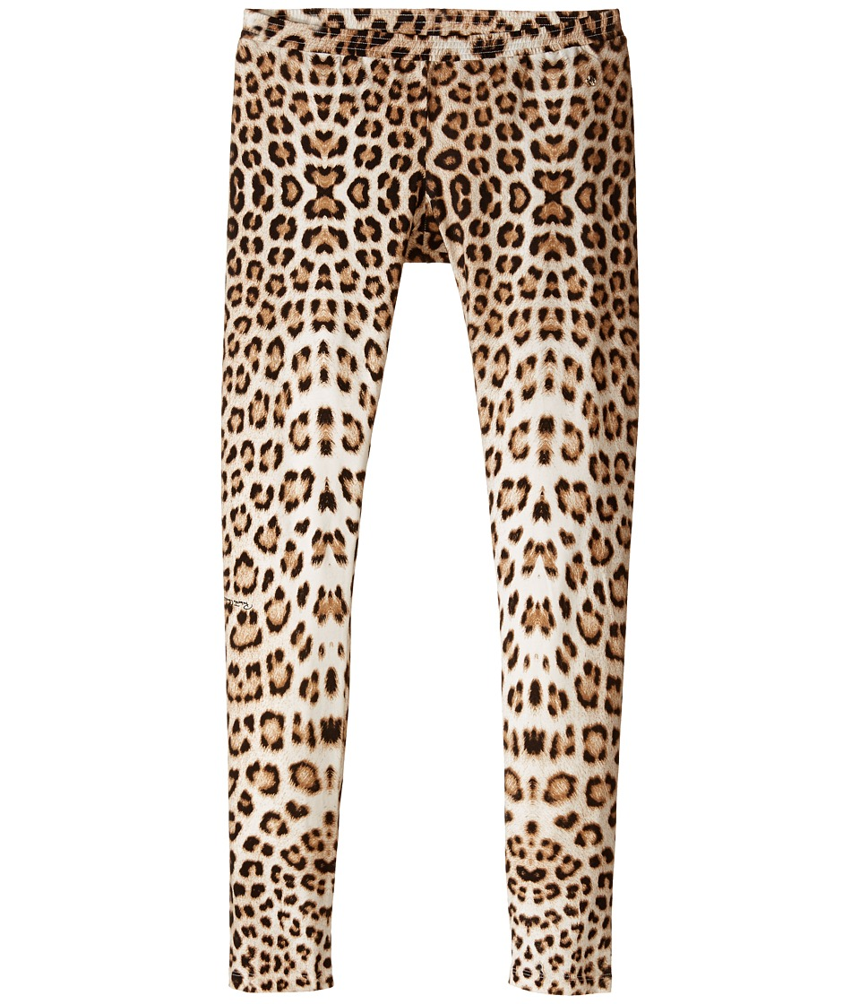 Roberto Cavalli Kids Leopard Leggings Big Kids Multi Girls Clothing