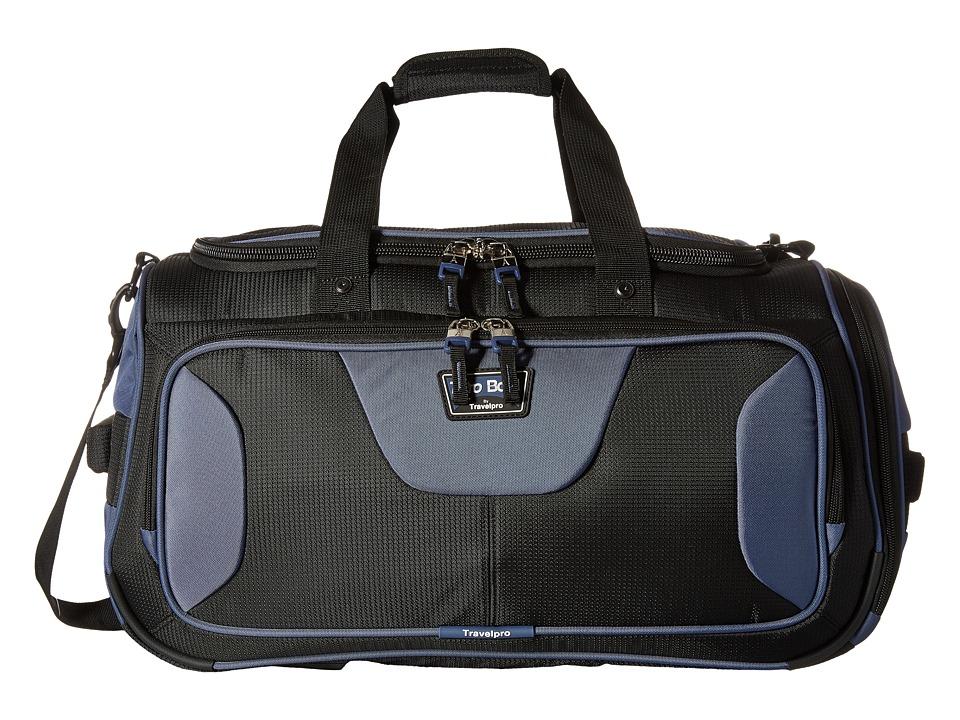 Travelpro - TPro Bold 2.0 - 22 Expandable Duffel Bag (Black/Navy) Duffel Bags