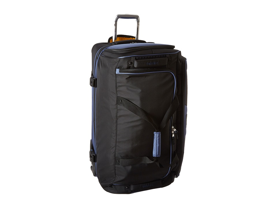 Travelpro - TPro Bold 2.0 - 30 Drop Bottom Rolling Duffel (Black/Navy) Duffel Bags
