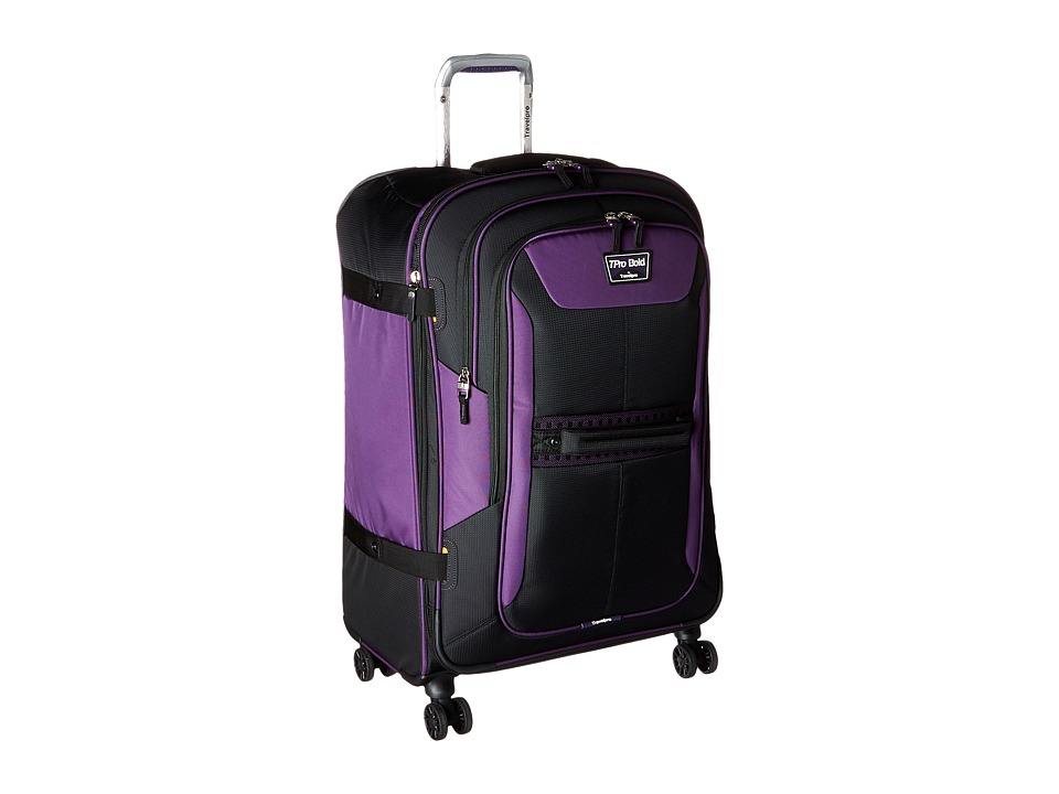 Travelpro - TPro Bold 2.0 - 26 Expandable Spinner (Black/Purple) Luggage