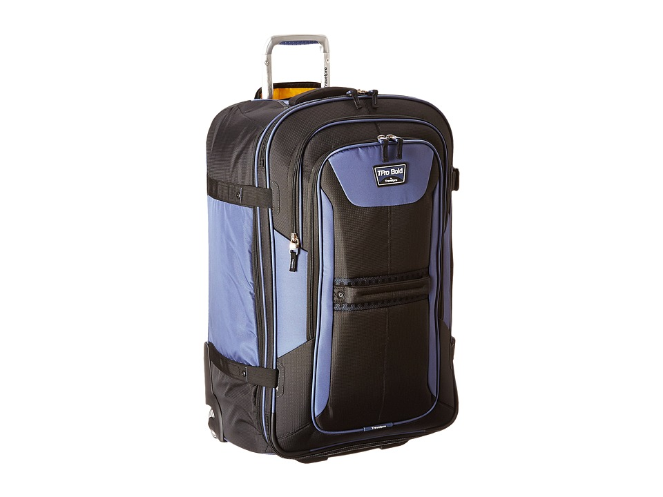 Travelpro TPro Bold 2.0 28 Expandable Rollaboard (Black/Navy) Luggage