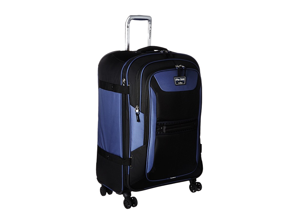 Travelpro - TPro Bold 2.0 - 26 Expandable Spinner (Black/Navy) Luggage