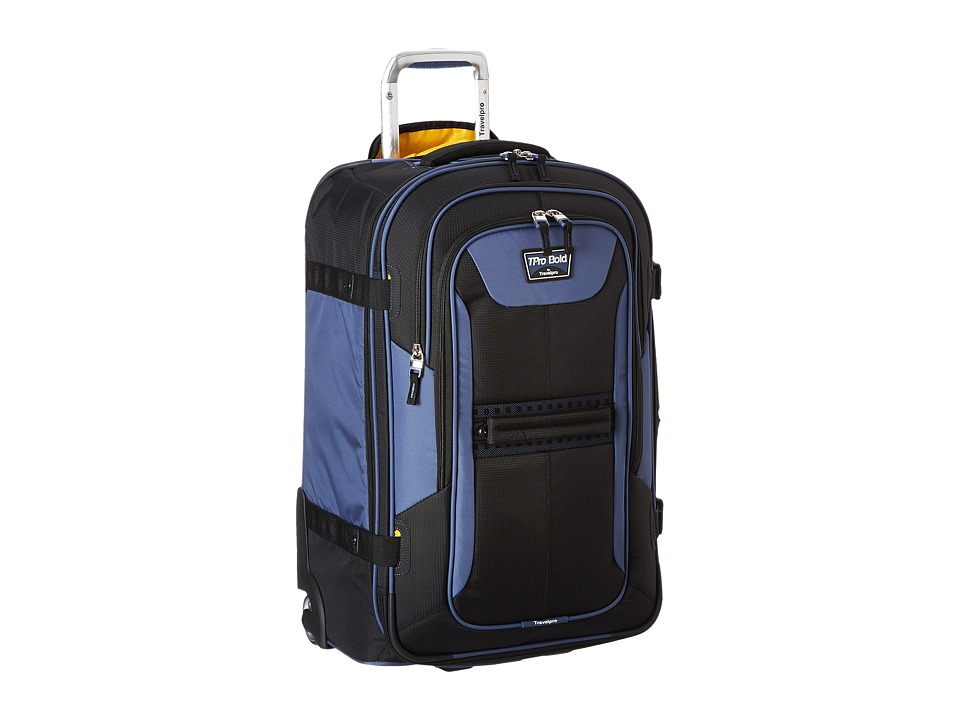 Travelpro - TPro Boldtm 2.0 - 25 Expandable Rollaboard(r) (Black/Navy) Luggage